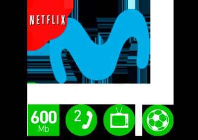 Fusión Selección Plus con ficción 600Mb (105€)